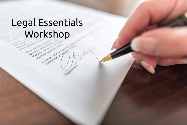 Legal Essentials Workshop – angličtina v obchodných zmluvách