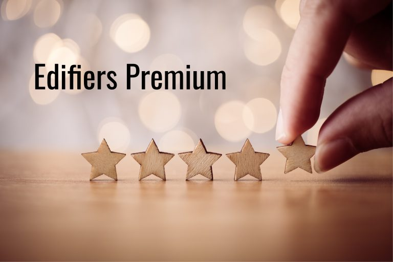 Edifiers Premium – tá najlepšia starostlivosť