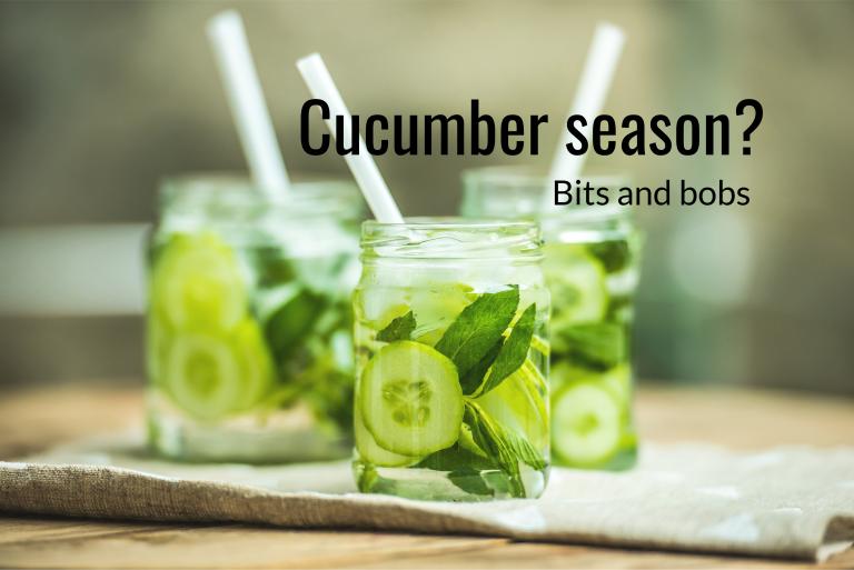 Cucumber season?