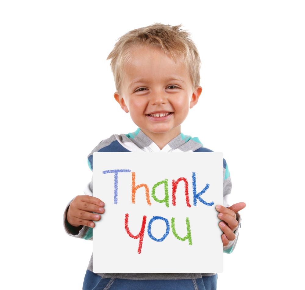 Vedieť poďakovať je základná komunikačná zručnosť.