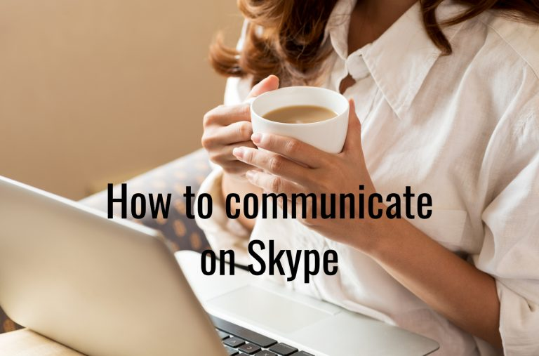 How to communicate on Skype?